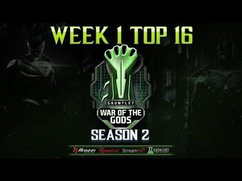 WAR OF THE GODS S2 - Week 1 Top 16 ft. Honeybee, Semiij, Rewind