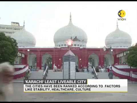 Karachi ranked as one of the least liveable cities of the world