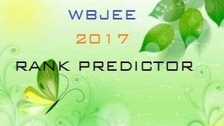 WBJEE 2017 Rank Predictor