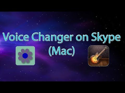 How To Change Your Voice On Skype (Mac Only)