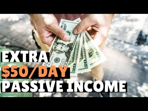 5 Passive Income Side Hustles for an Extra $50/Day
