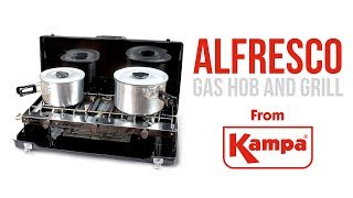 Kampa | Alfresco Gas Double Hob & Grill | Product Overview