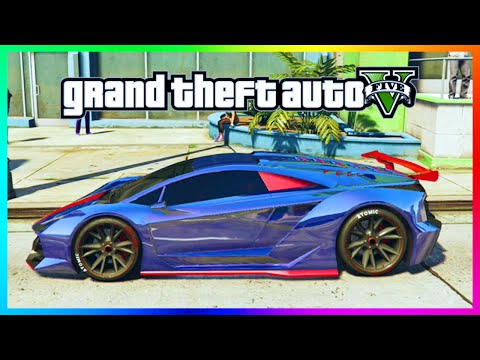 GTA 5 Online Rare 4D Paint Job Guide - Special 4-Colored Paintjobs In GTA Online! (GTA 5)