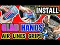 How To Install Glad Hands Grip On Any Semi Truck Air Lines. Vlog #73