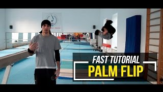 Palm Flip | Заднее от стены с толчком руками (Быстрое обучение | Fast tutorial)