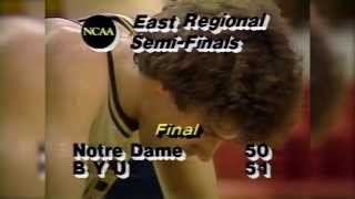 Danny Ainge sends BYU to Elite 8 in 1981 NCAA Tournament