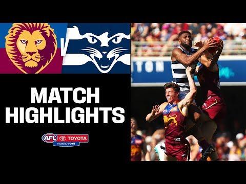 Battle For Top Spot | Brisbane V Geelong Highlights | Round 22, 2019 | AFL