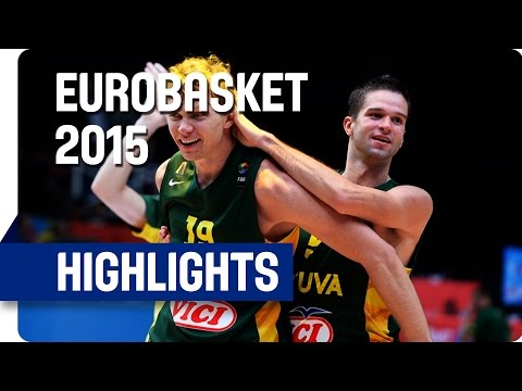 Serbia v Lithuania - Semi-Final - Game Highlights - EuroBasket 2015