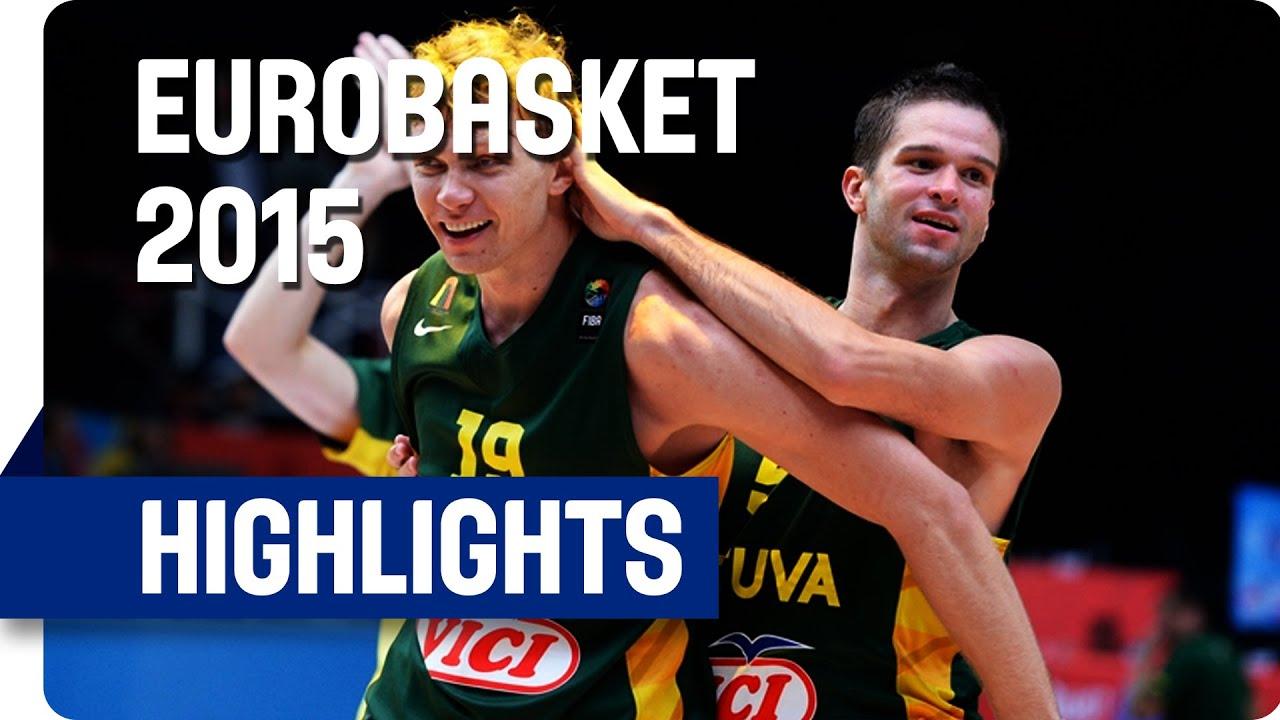Serbia v Lithuania - Semi-Final - Game Highlights - EuroBasket 2015