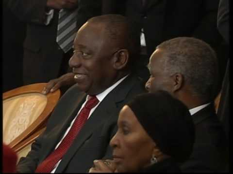 FUNERAL PROGRAMME OF FORMER PRESIDENT OF THE REPUBLIC OF BOTSWANA SIR KETUMILE MASIRE  (Part 1)