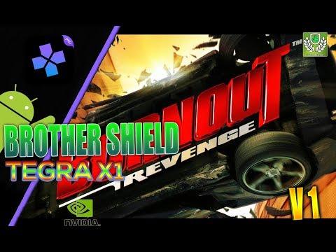 DamonPS2: PRO PS2 Emulator: Nvidia Shield - HD TEST | Burnout Revenge | Tegra X1 | Android 7.0 | V1