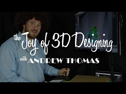 The Joy of 3D Design - Ep. 1 - Little Forest Towns