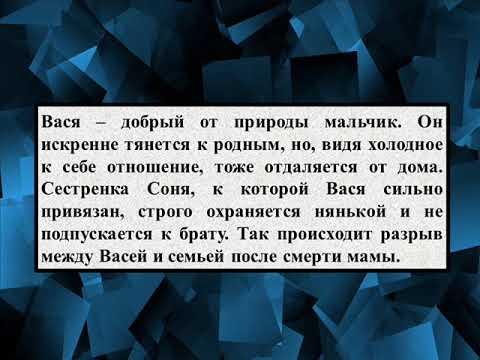 Сочинение на тему «Путь Васи к правде и добру по повести В Г  Ко