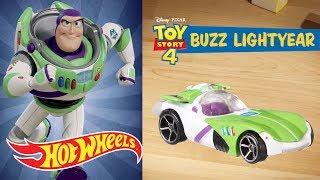Disney•Pixar TOY STORY 4 Character Cars | Hot Wheels