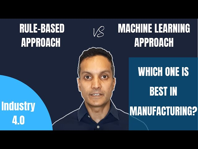Difference between Rule based and ML