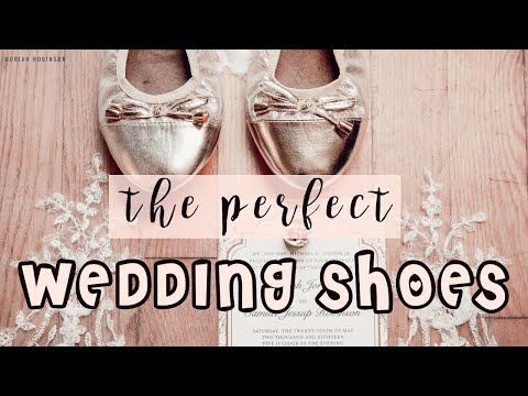 FINDING THE PERFECT WEDDING SHOES! | Moriah Robinson