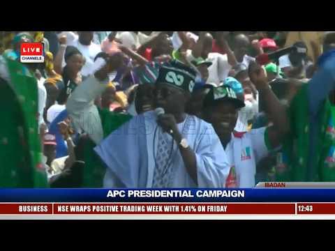 APC Presidential Campaign: Buhari Leads Train To Oyo Pt.3 |Live Event|