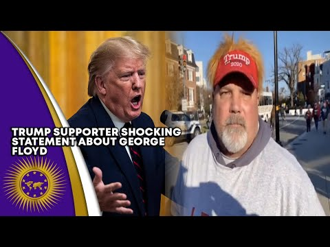 Trump Supporter Wish Derek Chauvin Kept His Knee On George Floyd's Neck Even Longer