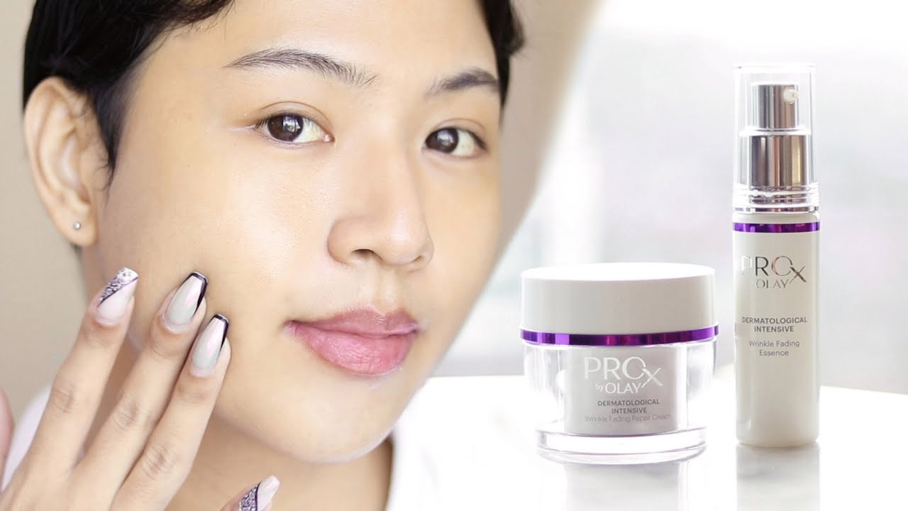 ProX by Olay Wrinkle Fading Repair Essence & Cream Review Malaysia   FISHMEATDIE