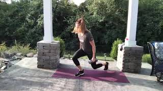 EXOS 30-min Bodyweight Metabolic Workout with Rebecca