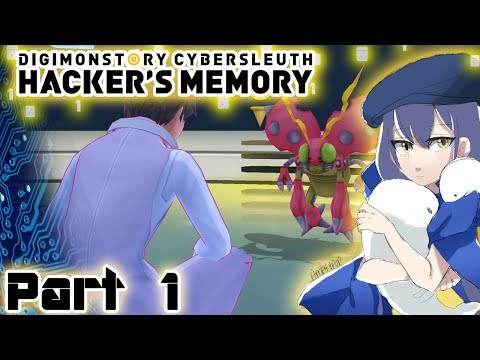 Let's Play Digimon Story: Cyber Sleuth - Hacker's Memory - Part 1