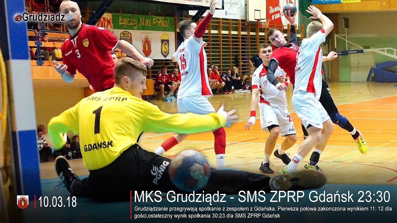 MKS Grudziądz – SMS ZPRP Gdańsk 23:30