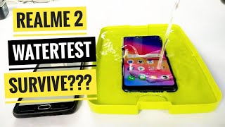 Realme 2 water test | survive or not