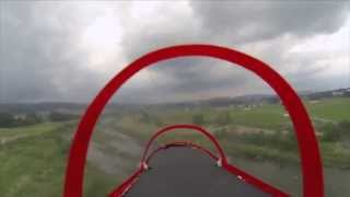 Alenia Aermacchi M-346 RC e-JET  On-board video flight + GoPro HERO 3