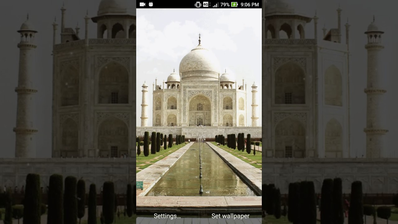 Taj mahal wallpaper youtube - Taj mahal screensaver free download ...