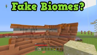Minecraft Xbox 360 / PS3 - Fake Biomes Explained