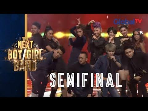 "Bawain ""Dessert"" Performance Team Boys VS Team Girls Asik Banget!! I The Next Boy/Girl Band GlobalTV"