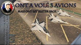 GTA 5 On A Volé 3 Avions De Chasse - Mais On Est Rester Sage o_O