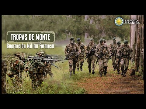Programa Nuestro Ejército - TROPAS DE MONTE GUARNICION MILITAR FORMOSA - 11/08/15