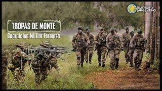 TROPAS DE MONTE GUARNICION MILITAR FORMOSA
