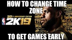 HOW TO GET NBA 2K19 A DAY EARLY