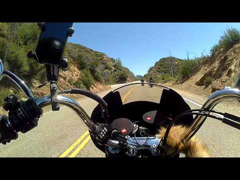 Angeles National Forest Sunday Ride California HWY 2 N