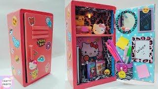 DIY Locker Organizer/DIY Desk Organizer/ Thank you 50k subscriber/DIY Locker With Cardboard/shoe box