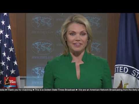 WATCH: US State Department Press Briefing with Heather Nauer