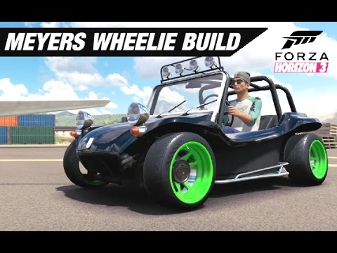 Meyers Manx WHEELIE Build - Forza Horizon 3