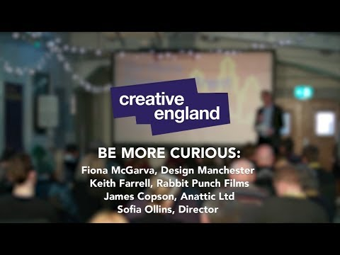 Be More Creative: Stoke - Panel discussion exploring documentary production
