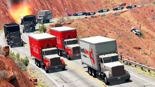 Convoys vs. Cops 2 | BeamNG.drive