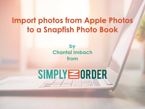 Import Photos From Apple Photos To A Snapfish Photo Book