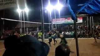 Grand final bola voli turnament Lampung tengah
