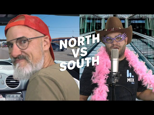North V South - The Ad Campaigns | Pete, Matt and Kymba | Mix94.5