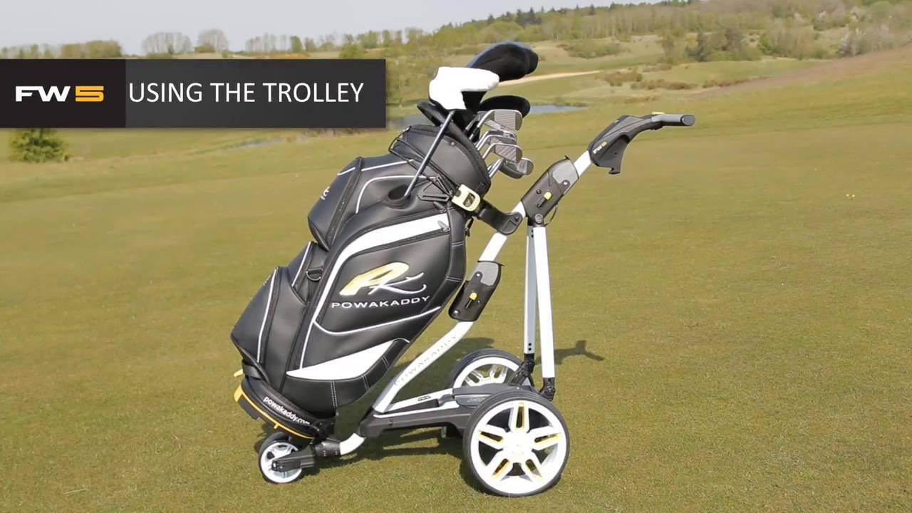PowaKaddy FW5 Electric Golf Trolley