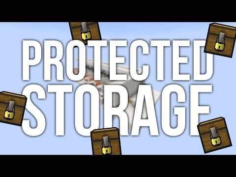 Bank Safes in Minecraft - Password Protected Storage System