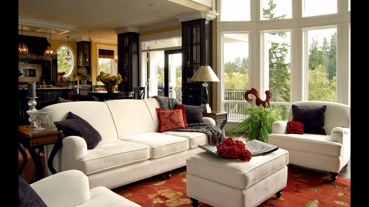 Interior Of Living Room Paint Color Ideas For With Wood Trim Drawing Design Youtube