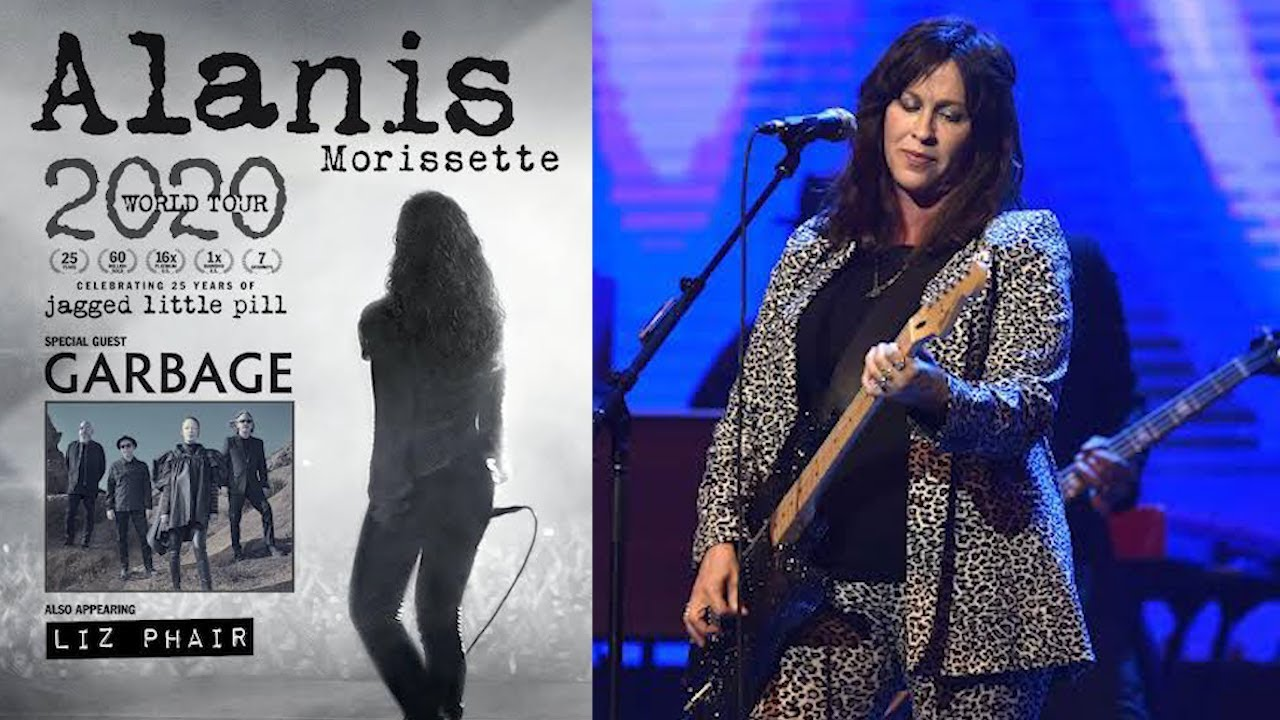 Alanis Morissette announces 2020 'Jagged Little Pill' anniversary tour