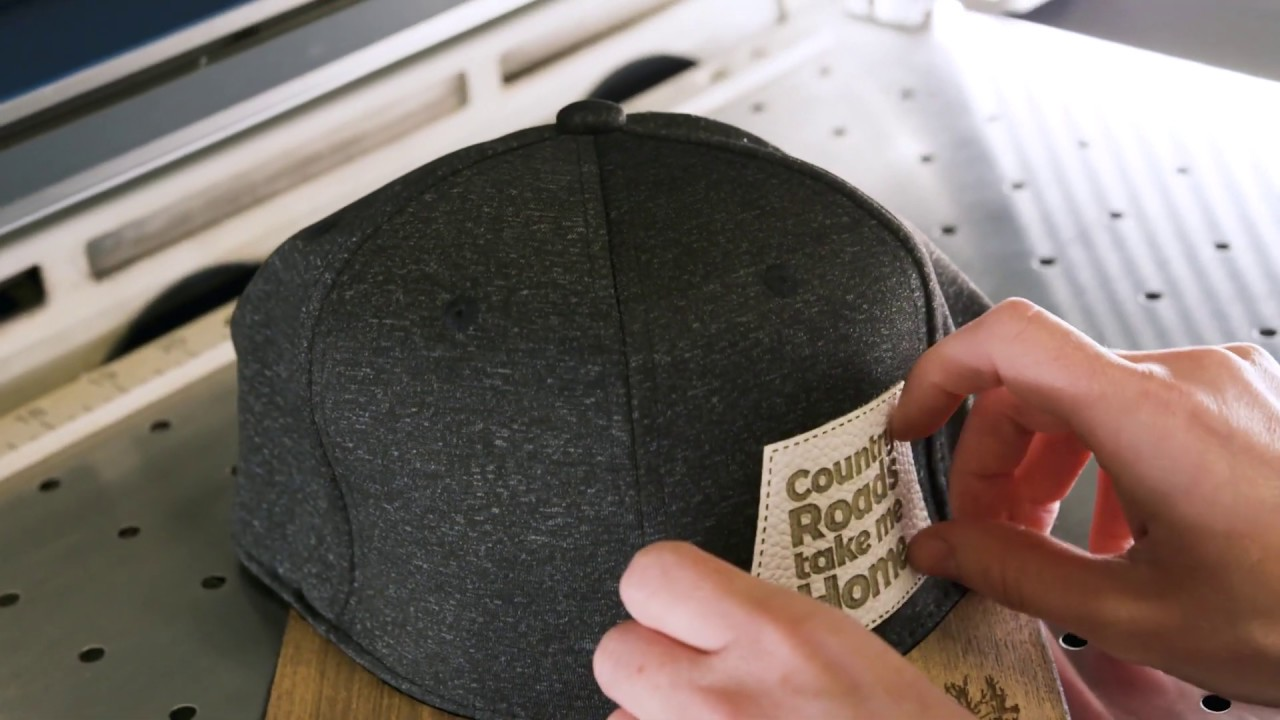 f0cb0a21ff72b Laser Engraving Leather Hat Accessories - YouTube