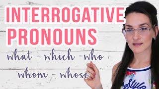 Cuando usar WHAT · WHICH · WHO · WHOM· WHOSE | Pronombres interrogativos en inglés